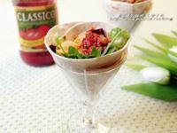 CLASSICO義大利麵醬~番茄肉醬捲餅佐水果莎莎醬