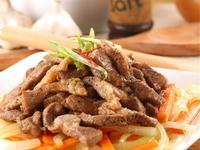 台灣豬肉》黑胡椒豬柳條