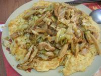 肉醬高麗菜+麵線煎餅