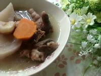 《九陽上菜》菱角蘿蔔雞腳湯