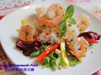 泰式鮮蝦蒟蒻涼麵