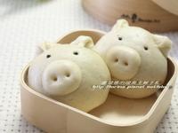 [瑞典主婦這樣教那樣煮孩子不挑食]小豬芝麻包子