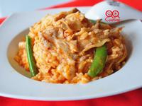 豚五花韓式泡菜燉飯