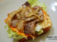 照燒豬肉三明治
