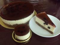 藍莓果凍起司蛋糕