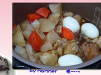 [智慧萬用鍋] 紅燒白蘿蔔馬鈴薯