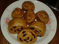 黑糖小饅頭(蔓越莓)