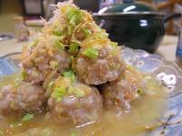 芹菜蝦仁肉丸