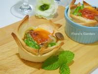 菇菇烤蛋吐司盅