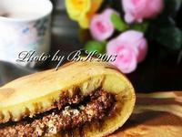 巧克力豆渣慢煎糕+可可豆奶【九陽豆漿機】