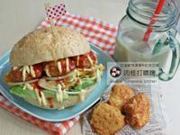 麥克雞塊豆渣堡&冰紅茶豆漿 九陽豆漿機
