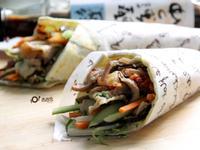 【父親料理】韓式燒肉五目蔬菜捲餅~淬釀 爸爸廚房