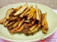 簡單烤薯條 - 香烤脆薯
