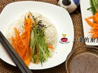 人妻的廚房--夏日基礎涼沾麵(中式醋醬)