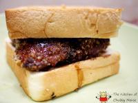 脆皮烤雞腿三明治