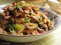 高麗菜乾炒肉絲