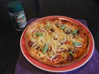 <超簡單-脆皮台式香腸PIZZA>