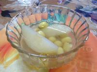 ●養生的蓮子燉梨湯