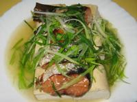 清蒸煙燻鮭魚