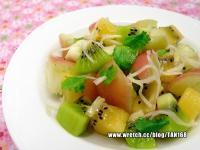 嫩薑絲綜合水果 ♥水果沙拉12♥