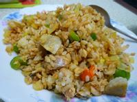 felicine|番茄汁鯖魚罐頭炒飯
