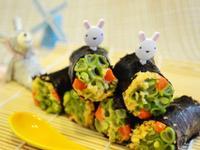 香鬆海苔蔬菜捲