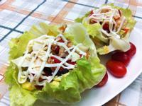 『氣炸鍋』蔬菜洋芋豬肉鬆