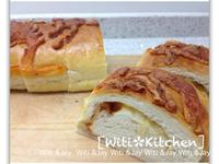 [Witi✿Kitchen]洋蔥起司培根麵包