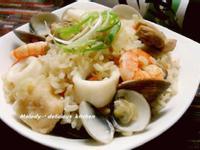 日式風味海鮮釜飯
