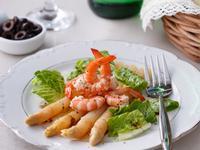 法國白蘆筍鮮蝦沙拉