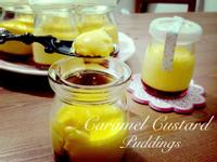 焦糖鮮奶布丁 Caramel Custard Puddings