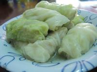 蝦仁高麗菜捲