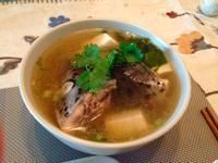 味噌鮭魚頭豆腐湯【小確幸Angel⭐廚房】