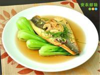 【安永鮮物】香煎鱸魚排佐青江菜