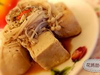 金針菇清蒸臭豆腐