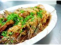 蒜泥水晶蒸蝦