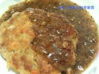 豆腐漢堡排【黑胡椒醬百搭料理】