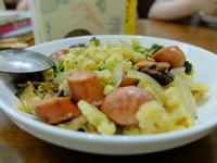 青醬德式香腸義大利麵