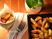 【差不多食譜】黃金鵝油香蔥烤馬鈴薯 Roast Potatoes with Goose Fat & Fried Shallot Flakes