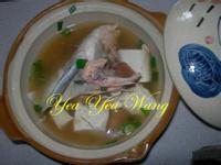 味噌豆腐鮭魚頭湯