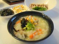 [剩餘食材變一餐]蘿蔔瘦肉粥+蒜泥白肉