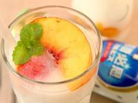 [阿妮塔♥sweet] 可爾必思水果寒天凍飲。(可爾必思)