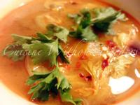 泰式香辣檸檬蝦湯