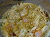 鹹口味的豆漿麵包布丁