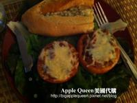 會牽絲的番茄鑲肉~Stuffed Tomatoes