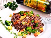 【泰山橄欖油】鮮蔬十穀米炒飯