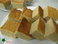 電子鍋~綠奶茶戚風蛋糕