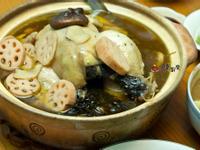 人妻的廚房-黑蒜頭雞湯