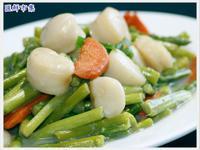 腰子貝炒蘆筍