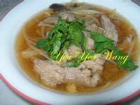 [金門高梁飄香料理]自製肉羹&不勾芡肉羹湯